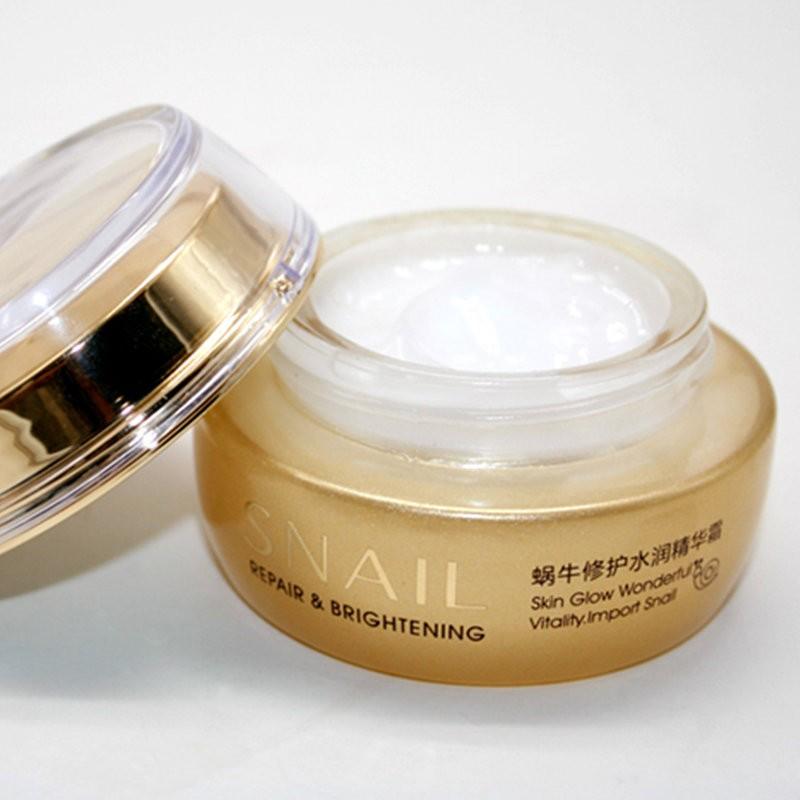 Крем для лица Bioaqua Snail Repair & Brightening Cream с муцином улитки 50 г